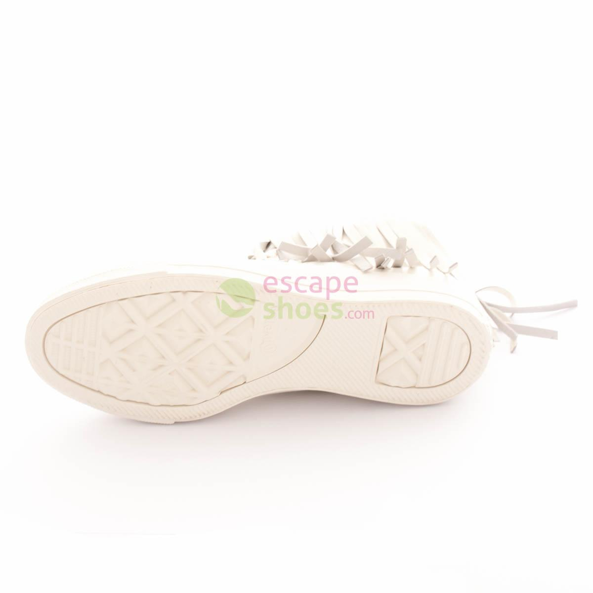 Sneakers CONVERSE Chuck Taylor All Star Fringe 551643C Egret