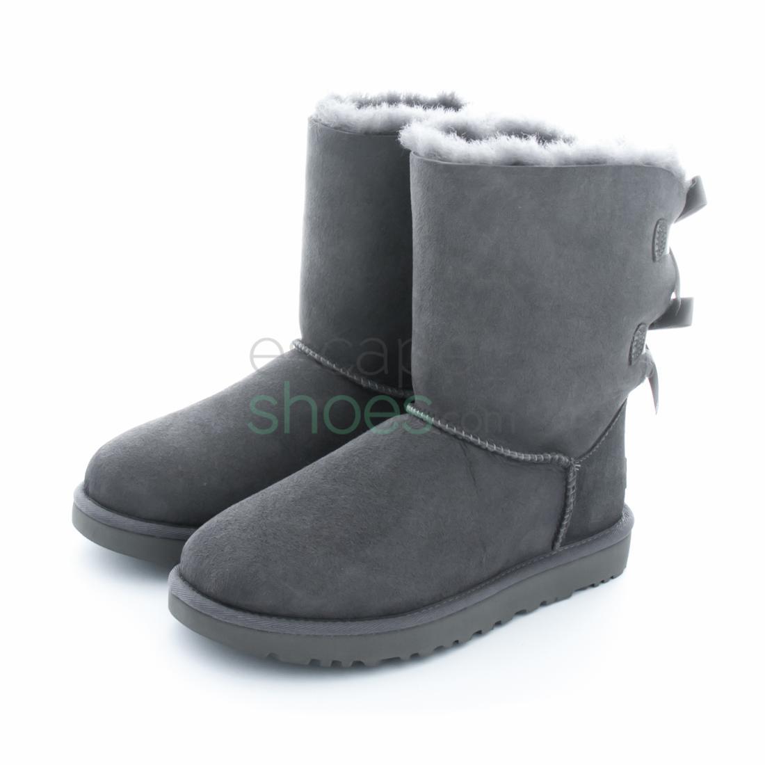 03369191e Buy your Boots UGG Australia Bailey Bow II Grey 1016225 here ...