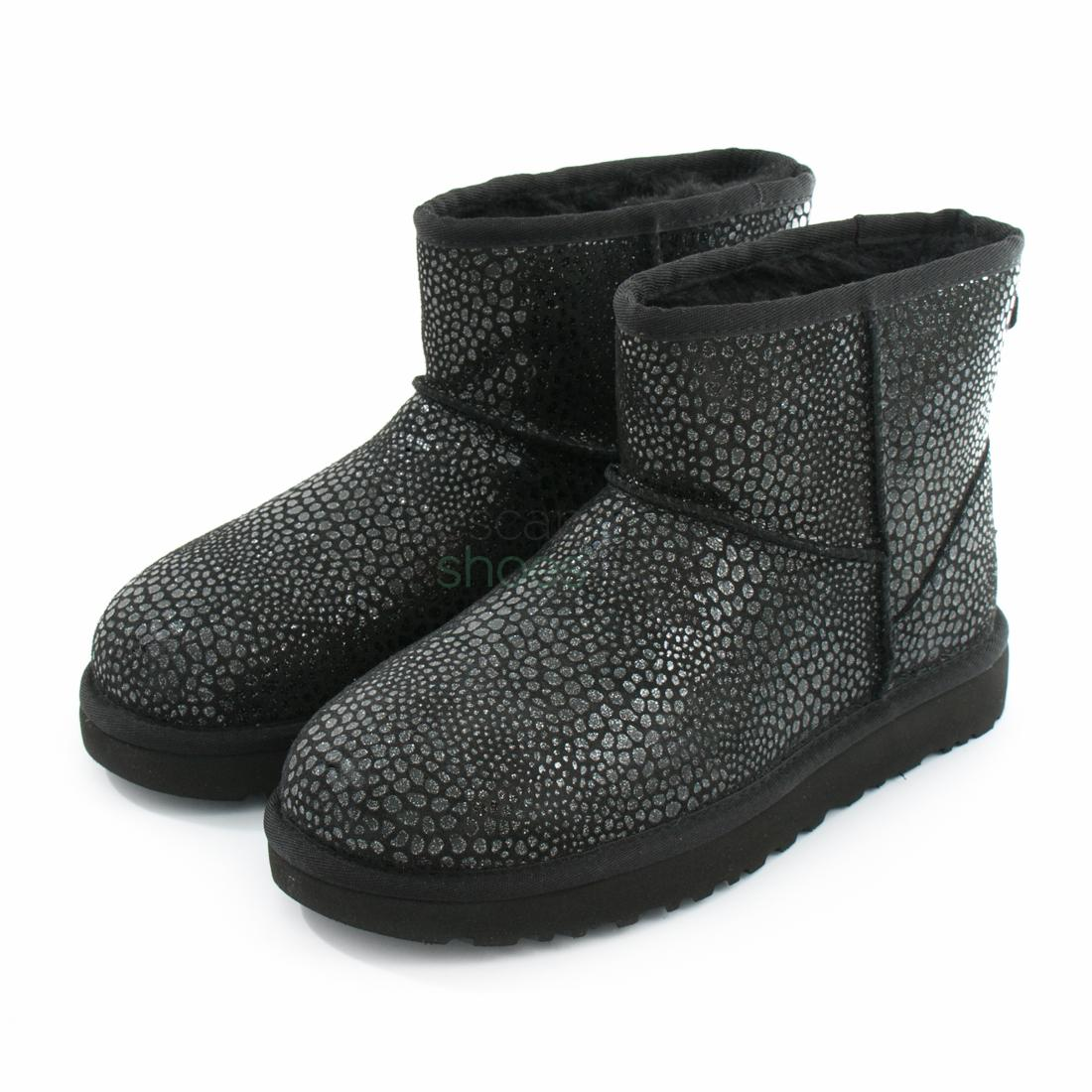 93d0c681ca4 Boots UGG Australia Classic Mini Glitzy Black 1019637