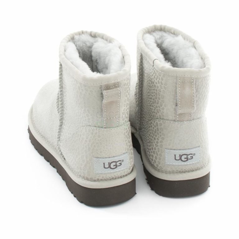 Botas UGG Australia Classic Mini Glitzy Grey Violet 1019637
