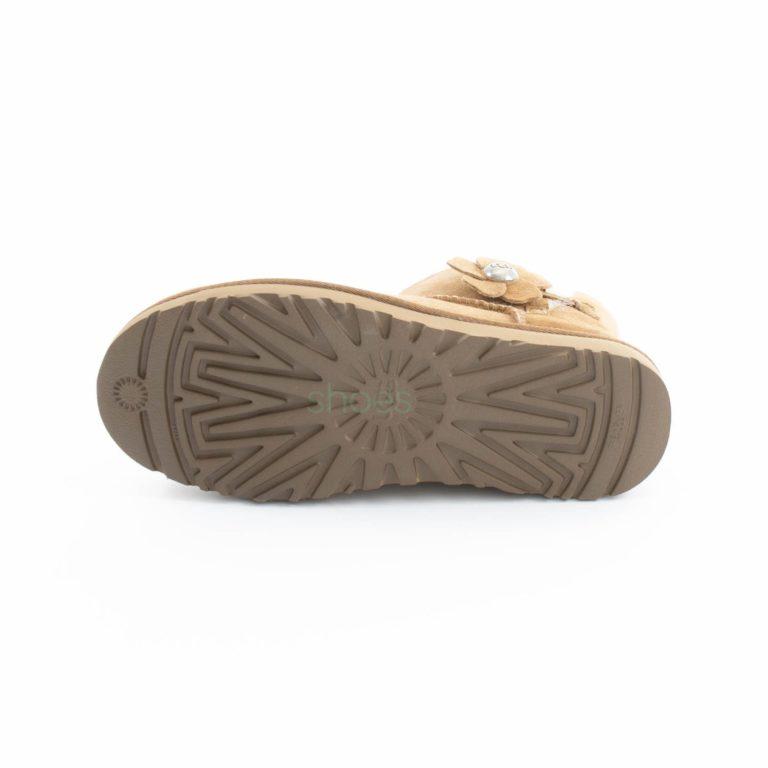 Botas UGG Australia Mini Bailey Button Poppy Chestnut 1092295