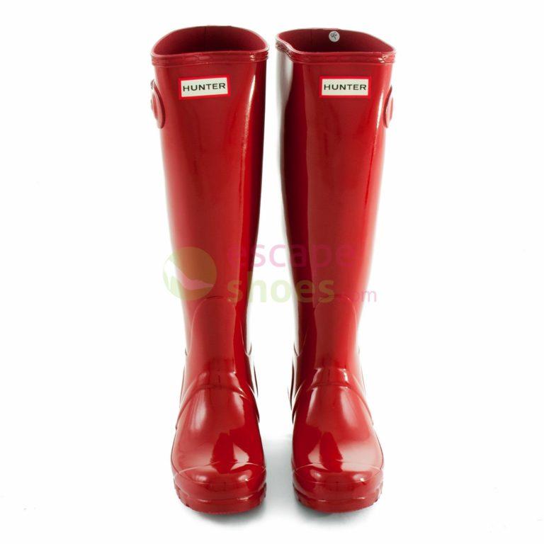 Galochas HUNTER Womens Original Tall Gloss Red WFT1000RGLMLR