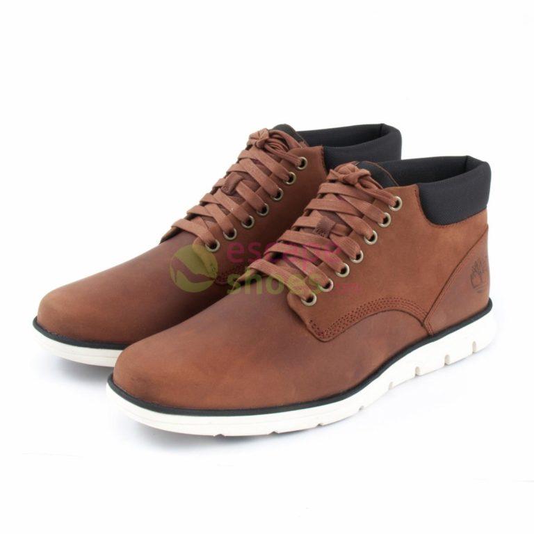 Botas TIMBERLAND Bradstreet Chukka Leather Red Brown A13EE