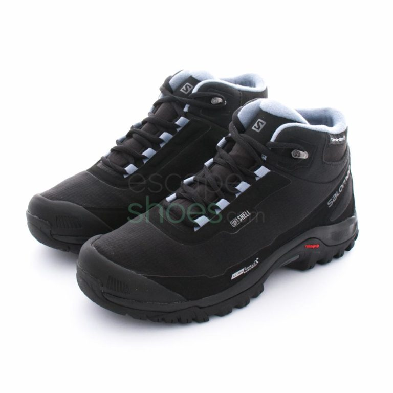 Botas SALOMON Shelter Climashield Waterproof Black Stone Blue 376873