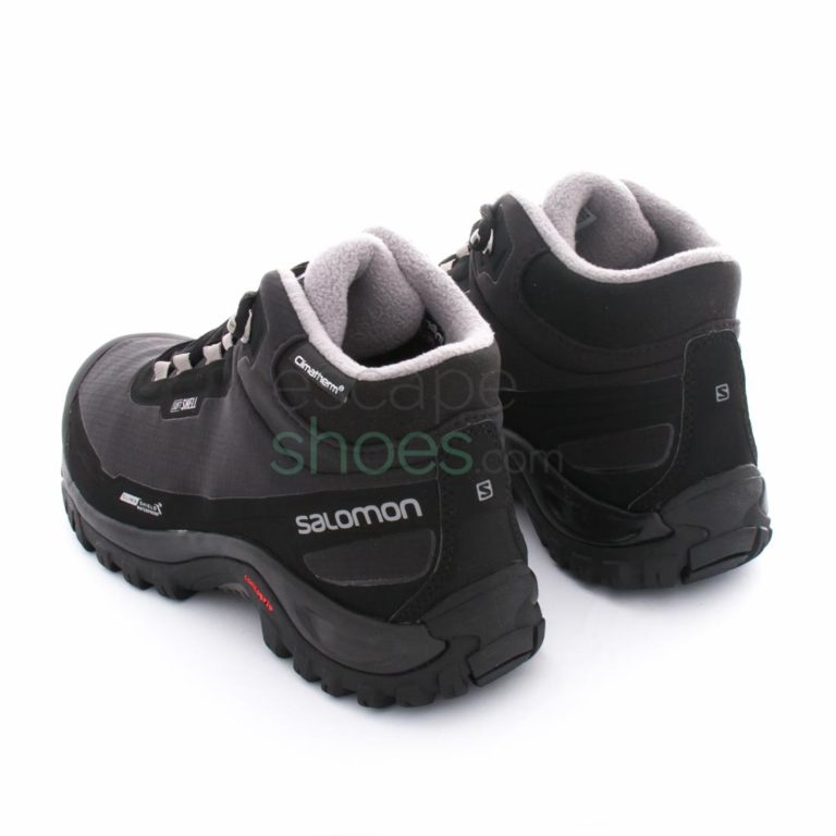 Botas SALOMON Shelter Climashield Waterproof Black Pewter 372811