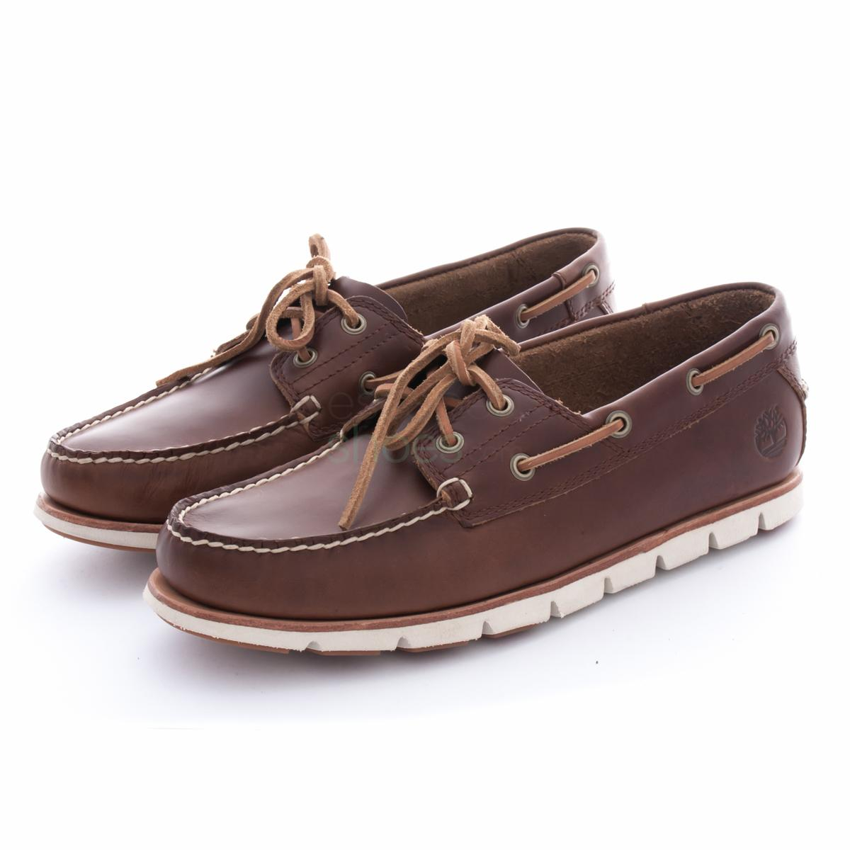 Boat Shoes TIMBERLAND A1BHL Tidelands 2 Eye Sahara