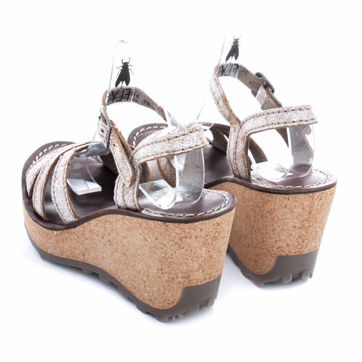 Sandálias FLY LONDON Glam Gort645 Pearl P143645012