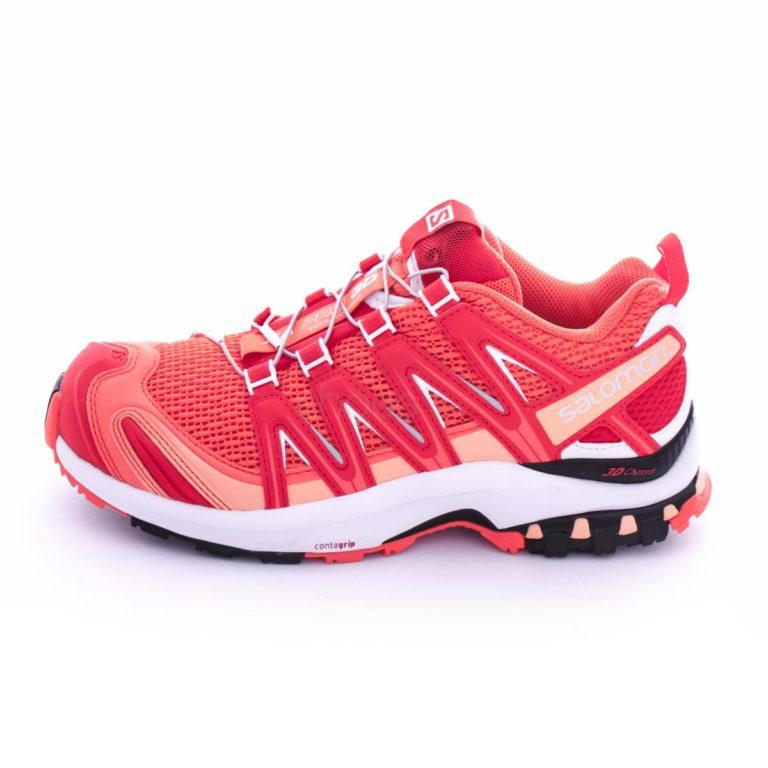 Tenis SALOMON XA Pro 3D Living Coral White Poppy Red 393275