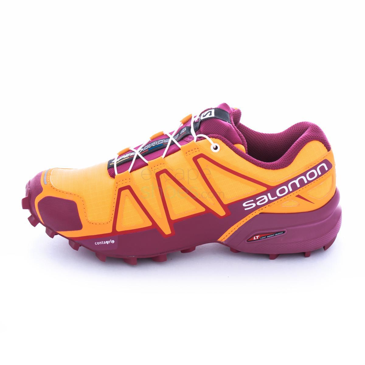 Sneakers SALOMON Speedcross 4 Bright Marigold Sangria 392403