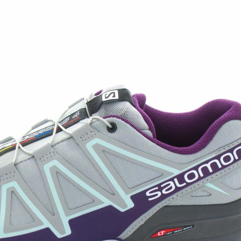 Tenis SALOMON Speedcross 4 Quarry Acai Fair Aqua 394664