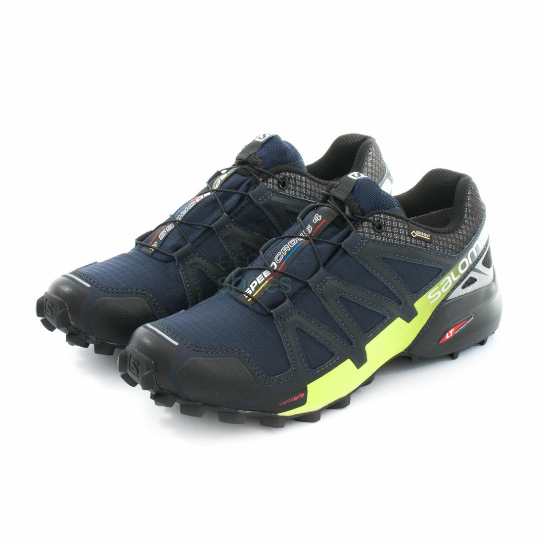 baskets pour pas cher 4b1e8 1fa06 Sneakers SALOMON Speedcross 4 Nocturne Gore-Tex Navy 394456