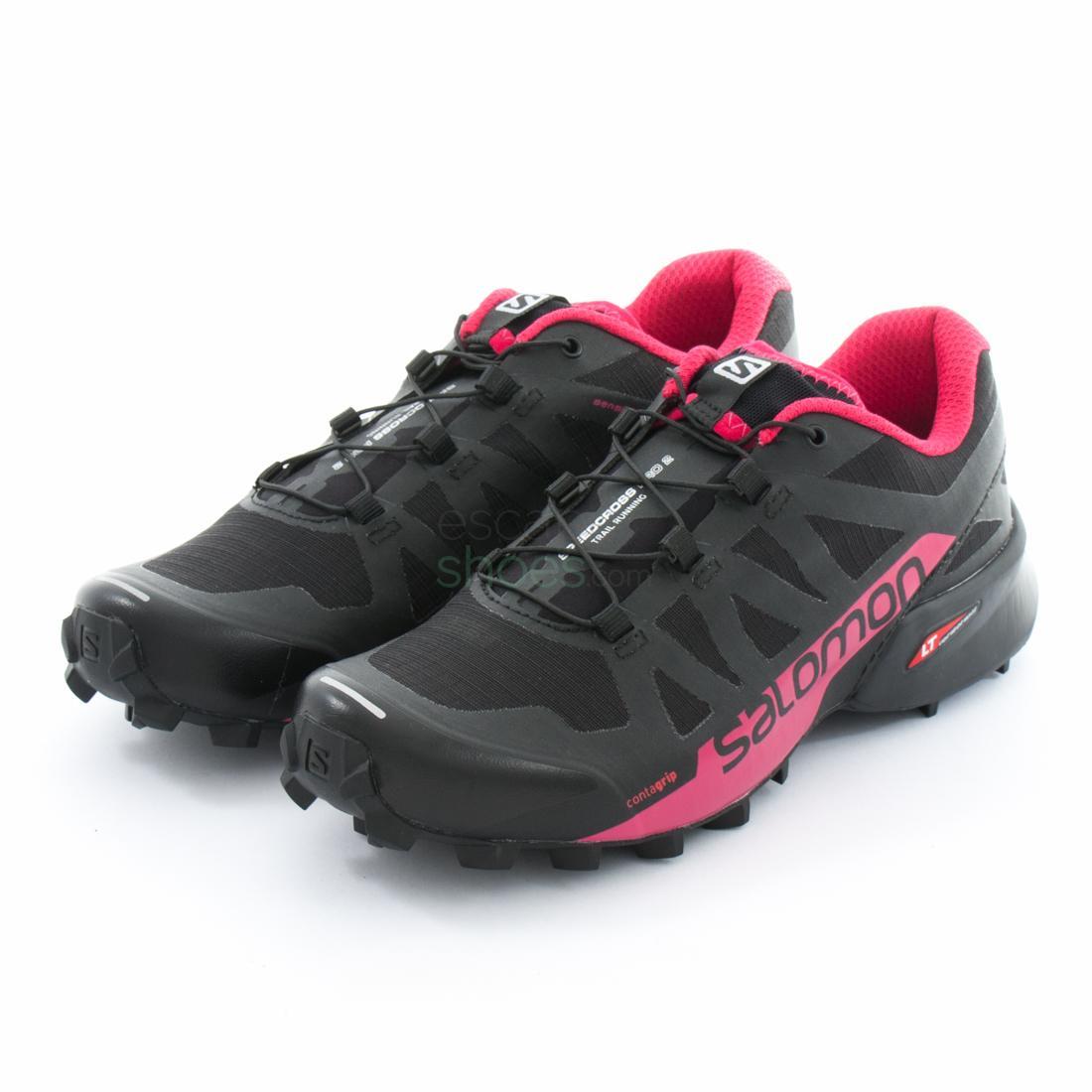 grossiste 1b827 6e258 Sneakers SALOMON Speedcross Pro 2 Black Virtual Pink 398427