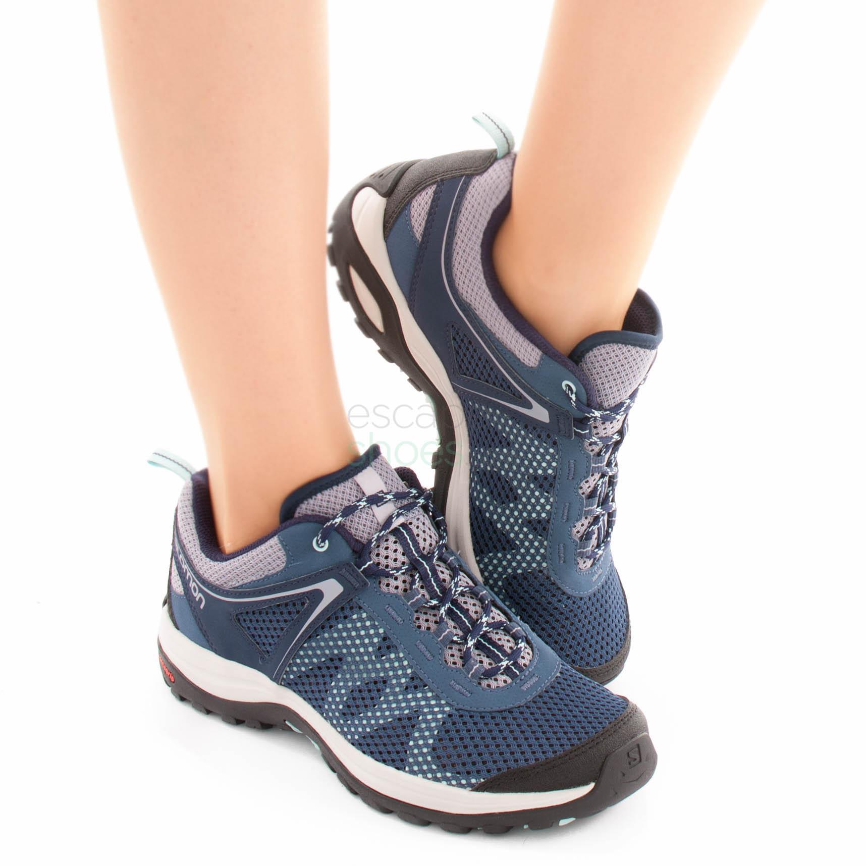 Entre tierra Corte  Sneakers SALOMON Ellipse Mehari Crown Blue 401590