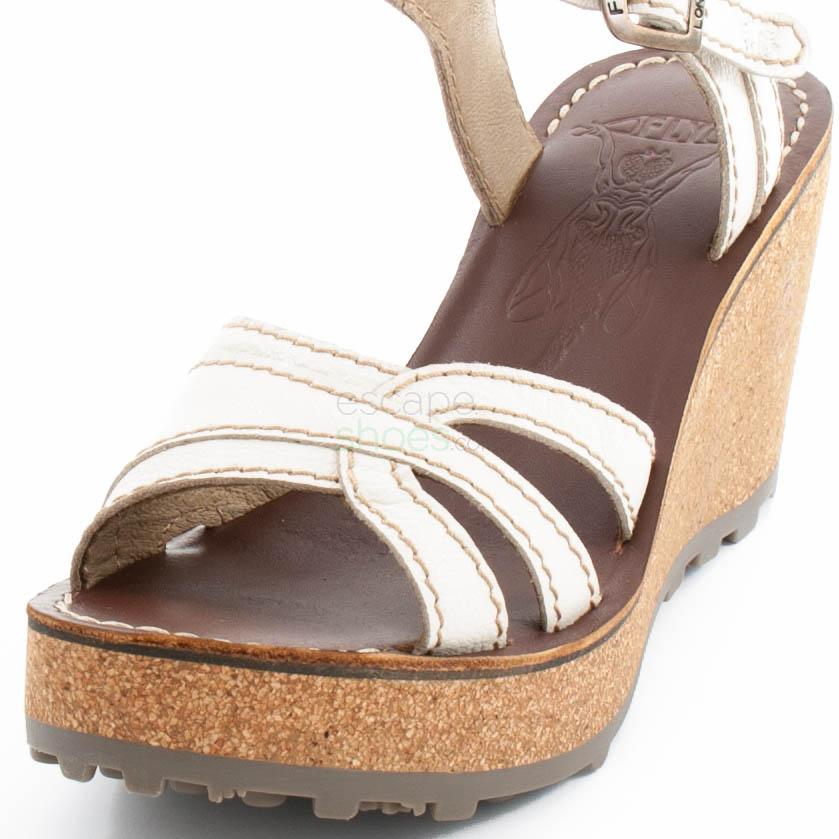 Sandálias FLY LONDON Glam Gort645 White P143645015