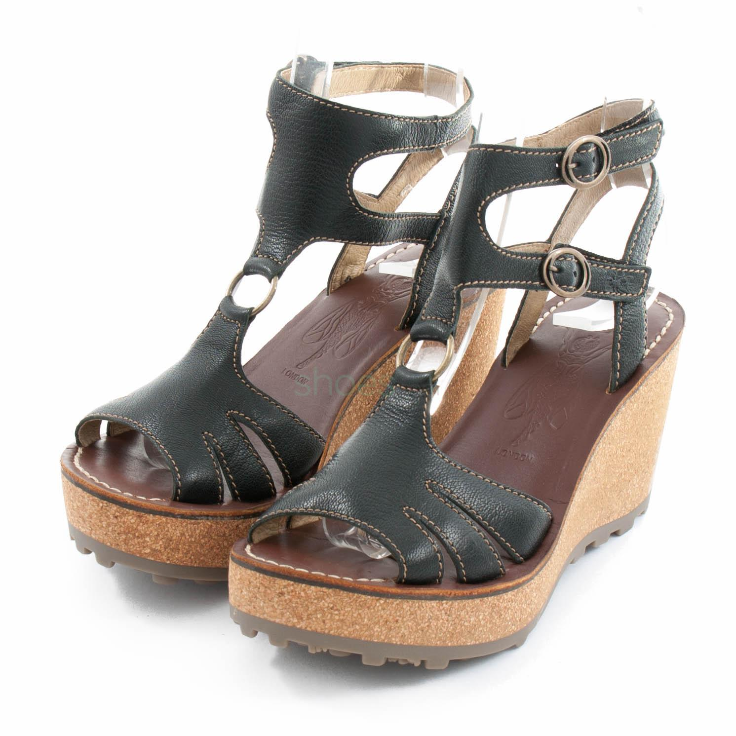 252a07c215fdb Buy your Sandals FLY LONDON Glam Gabs263 Black P144263002 here ...