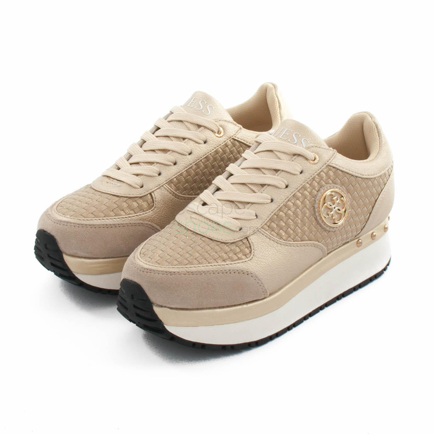 Guess Fltif1ele12 Sneakers Tiffany Gold VSpUzM