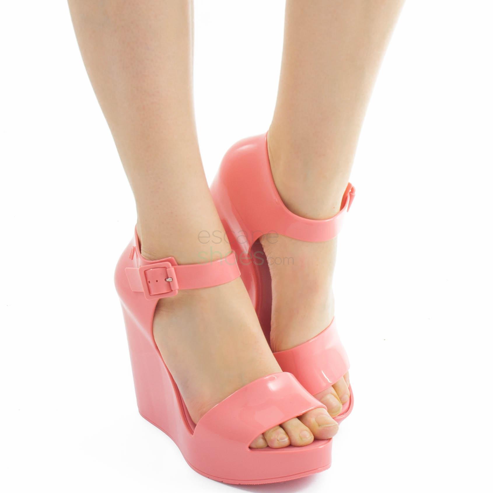 Sandals MELISSA Mar Wedge Pink MW.18.042B