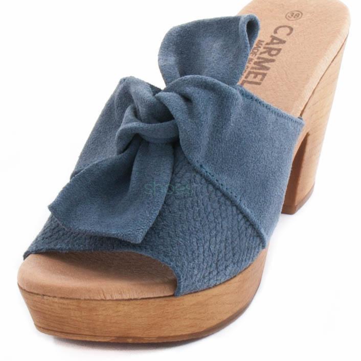 Sandalias CARMELA 66136 Ante Jeans