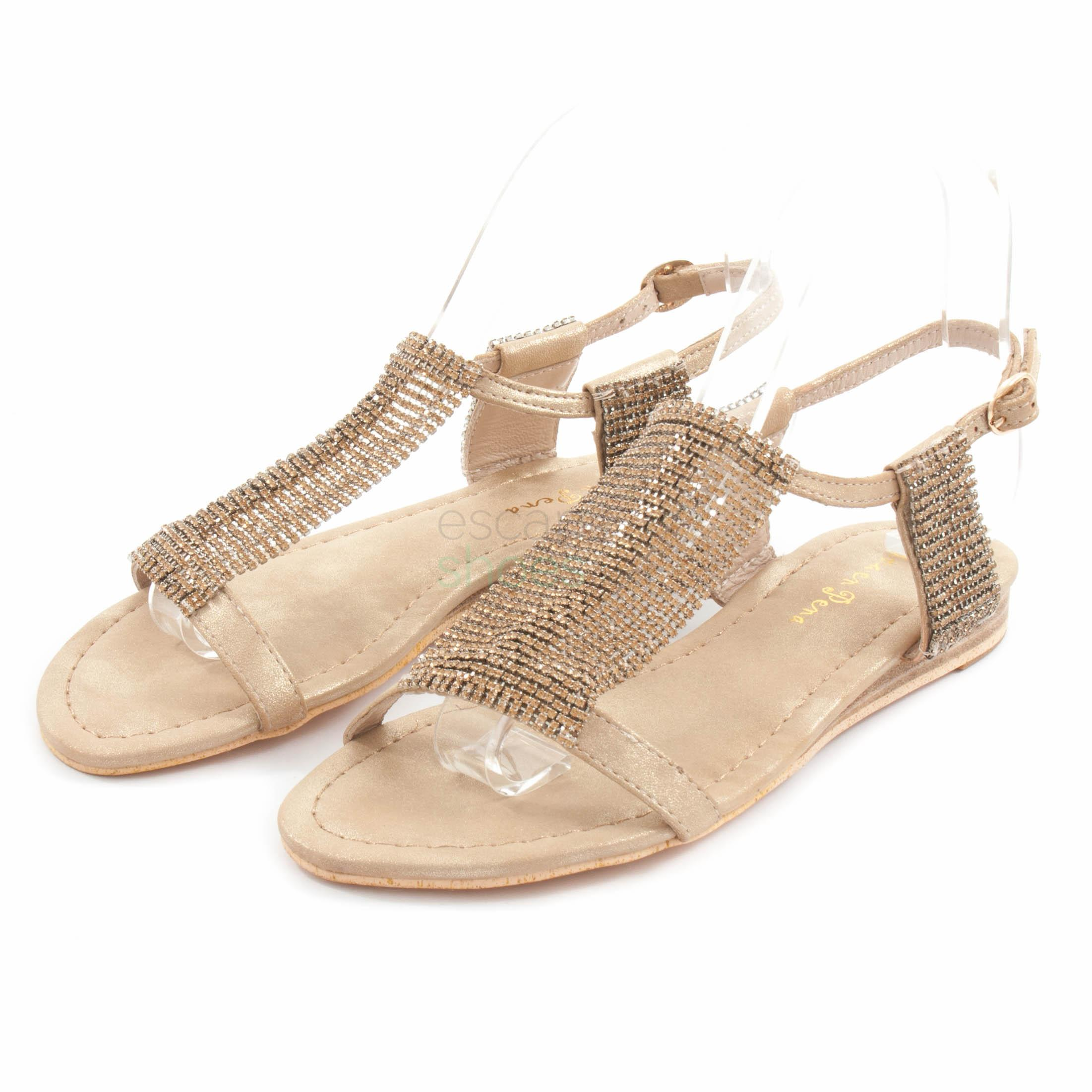 db04fc7a929 Buy your Sandals ALMA EN PENA V18522 Oporto Gold here | Online Store ...
