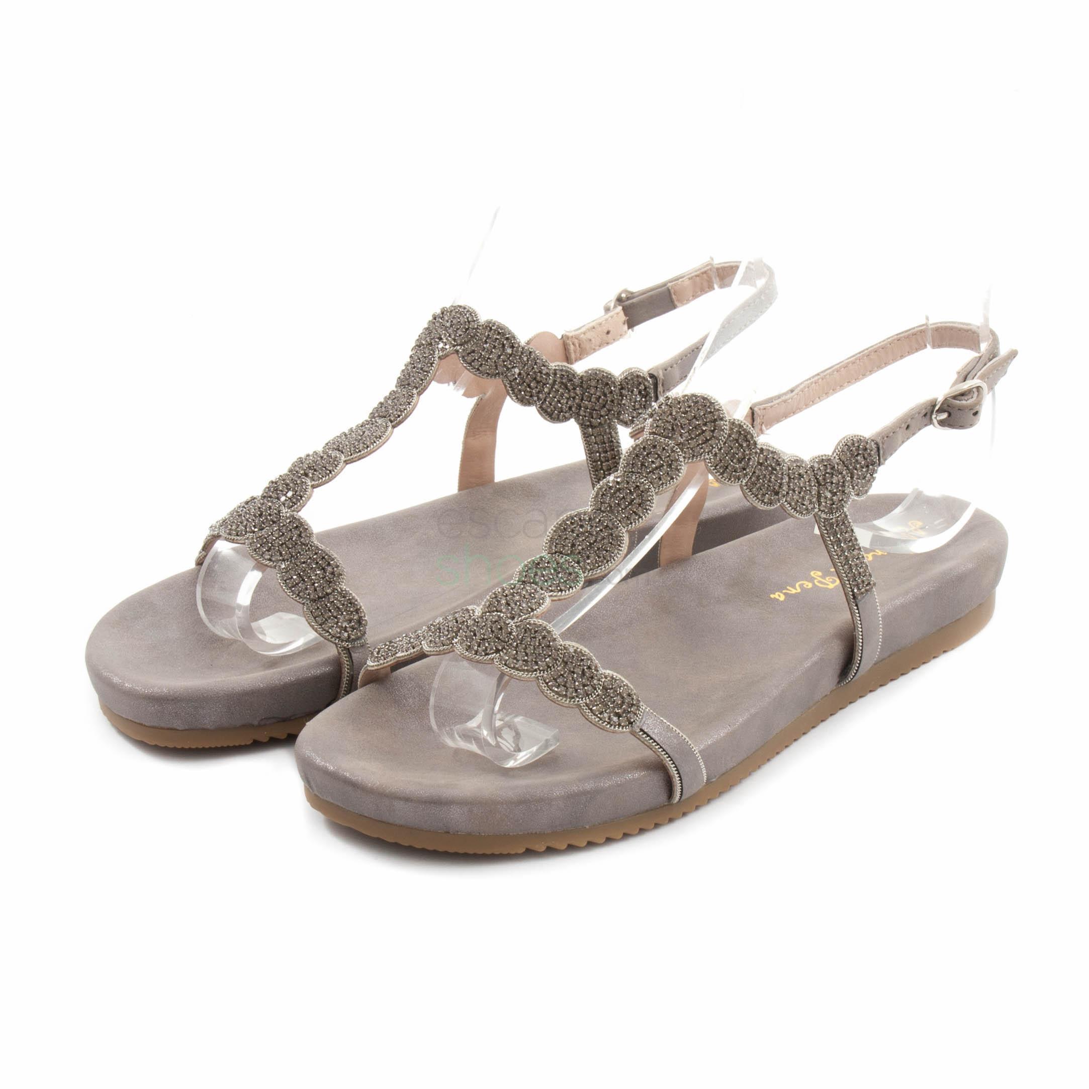 c42a5c340dc Buy your Sandals ALMA EN PENA V18454 Oporto Pewter here | Online ...