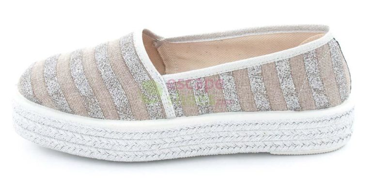 Sapatos SIXTYSEVEN 75725 Stripes Prata