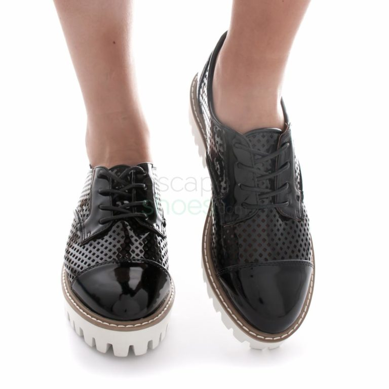 Sapatos SIXTYSEVEN 76792 Patent Black