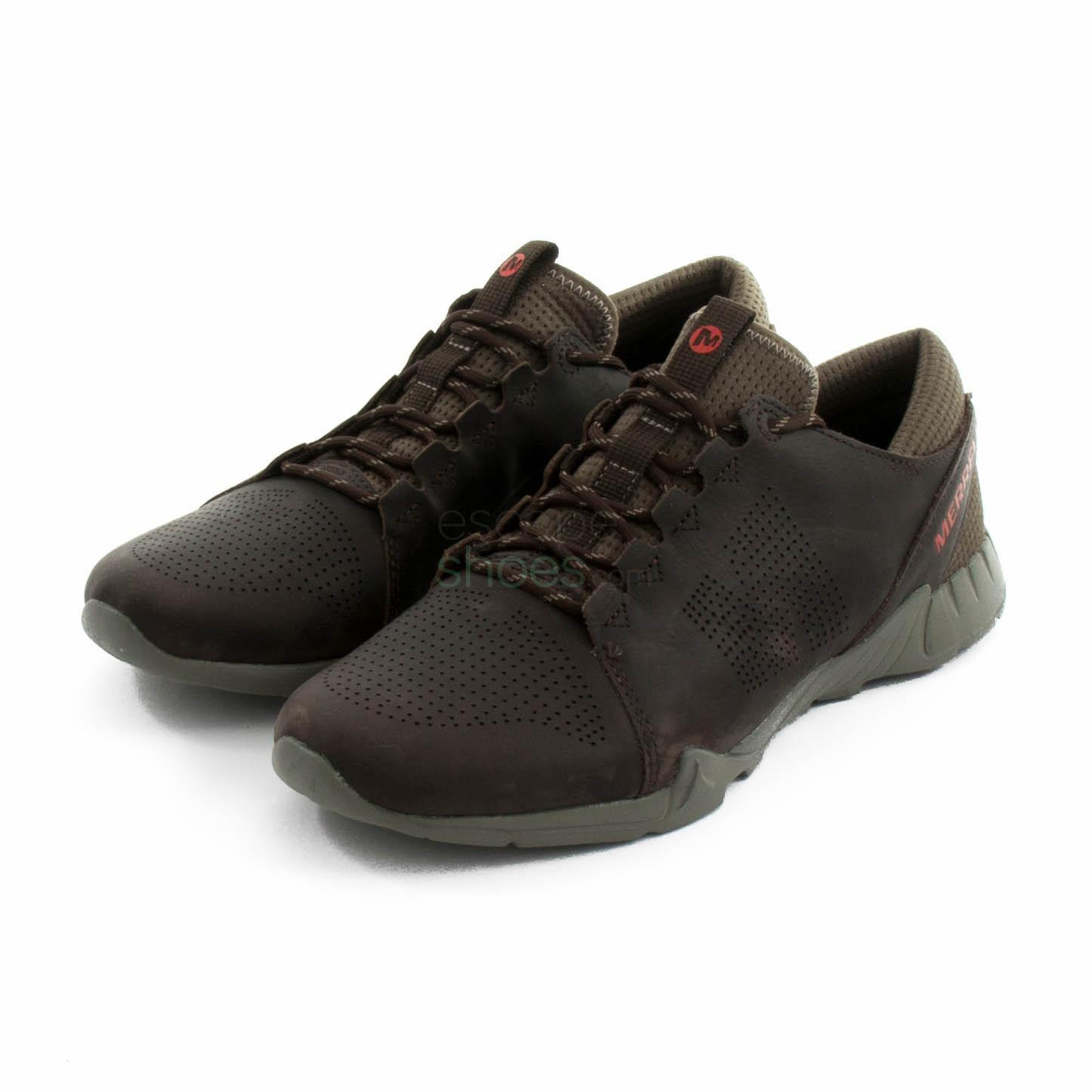ce99488a75446 Buy your Sneakers MERRELL Versent Kavari Lace Dark Brown J93865 here ...
