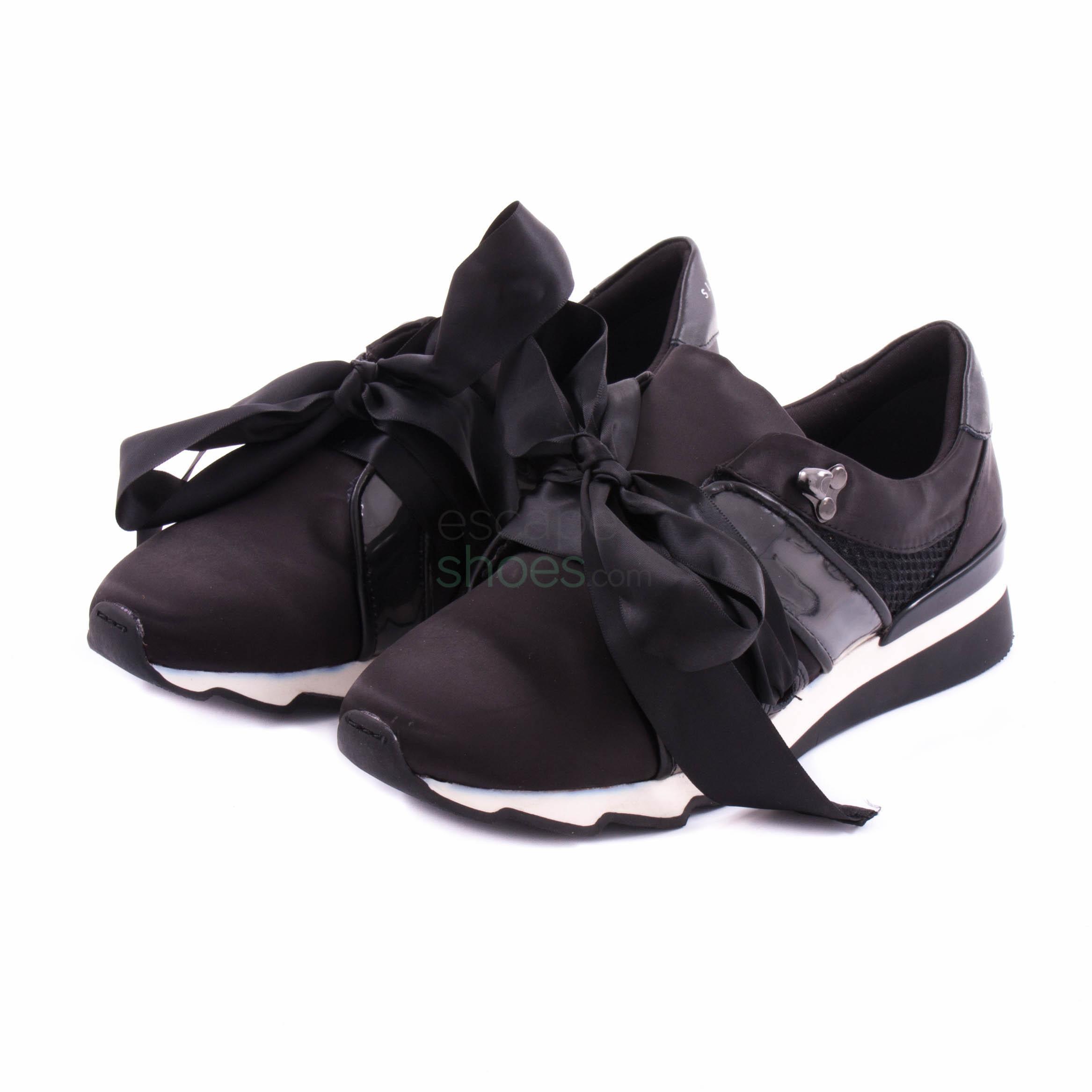 Sneakers SIXTYSEVEN 79395 Leola Satin Black