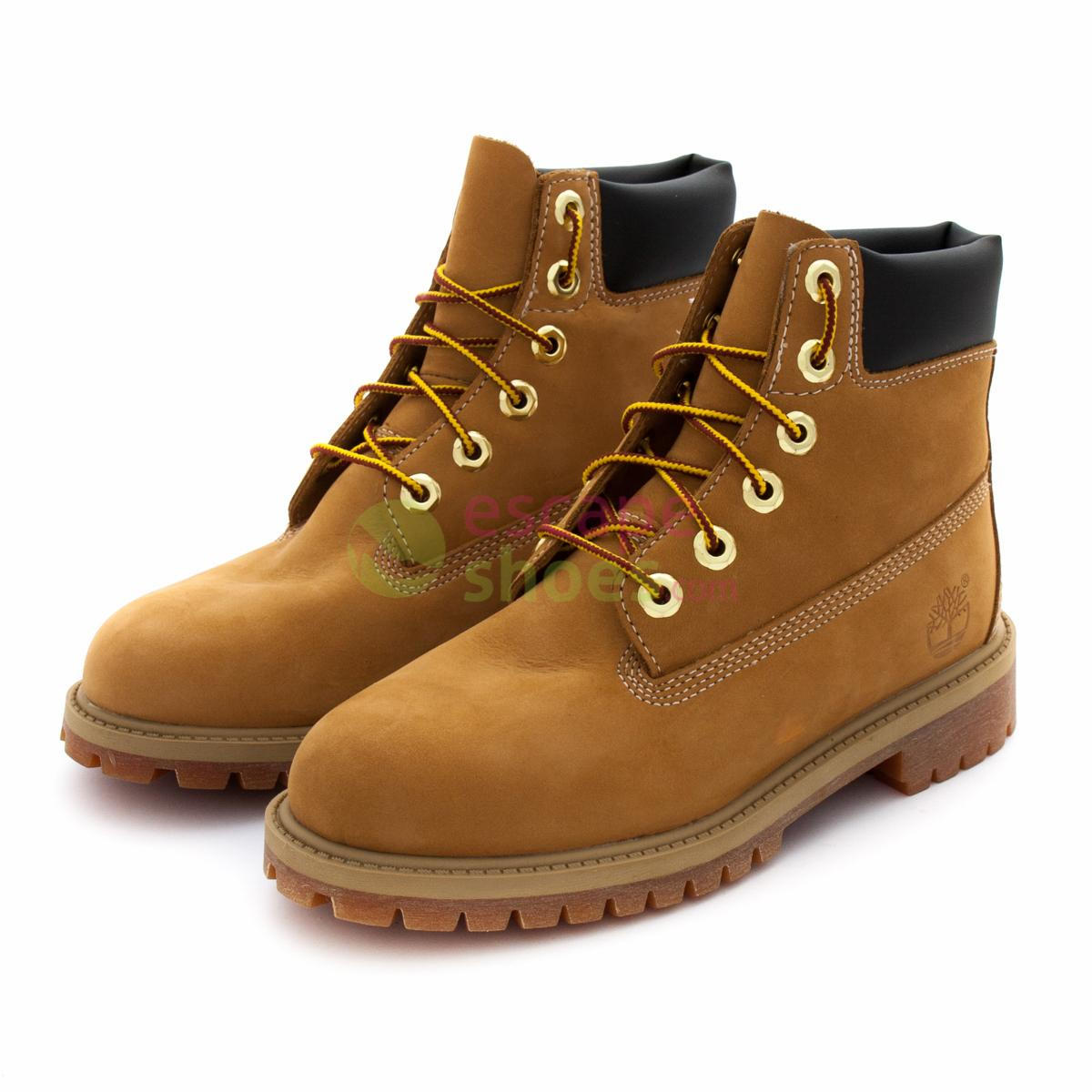 Yellow Boots TIMBERLAND Junior 6 Inch Premium 12909