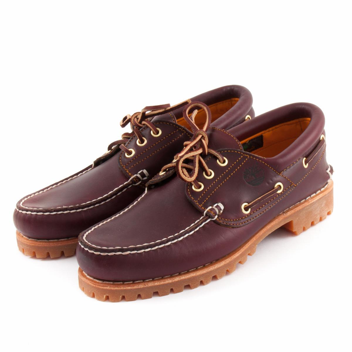 na sprzedaż online sprzedawca detaliczny oficjalny sklep Boat Shoes TIMBERLAND 50009 3-Eye Classic Lug Burgundy