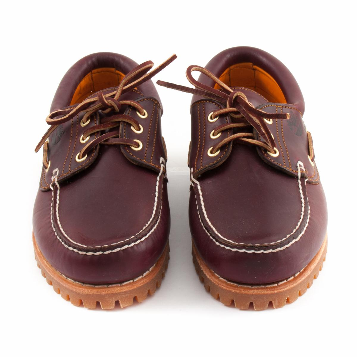 Boat Shoes TIMBERLAND 50009 3 Eye Classic Lug Burgundy