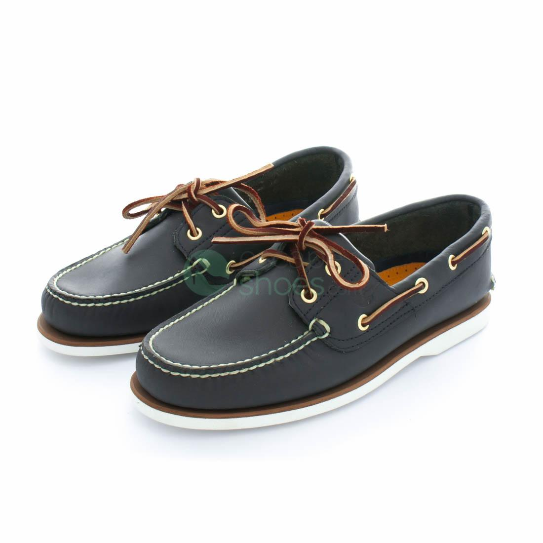 new high get cheap good out x Shoes TIMBERLAND 74036 Classic 2-Eye Boat Shoe