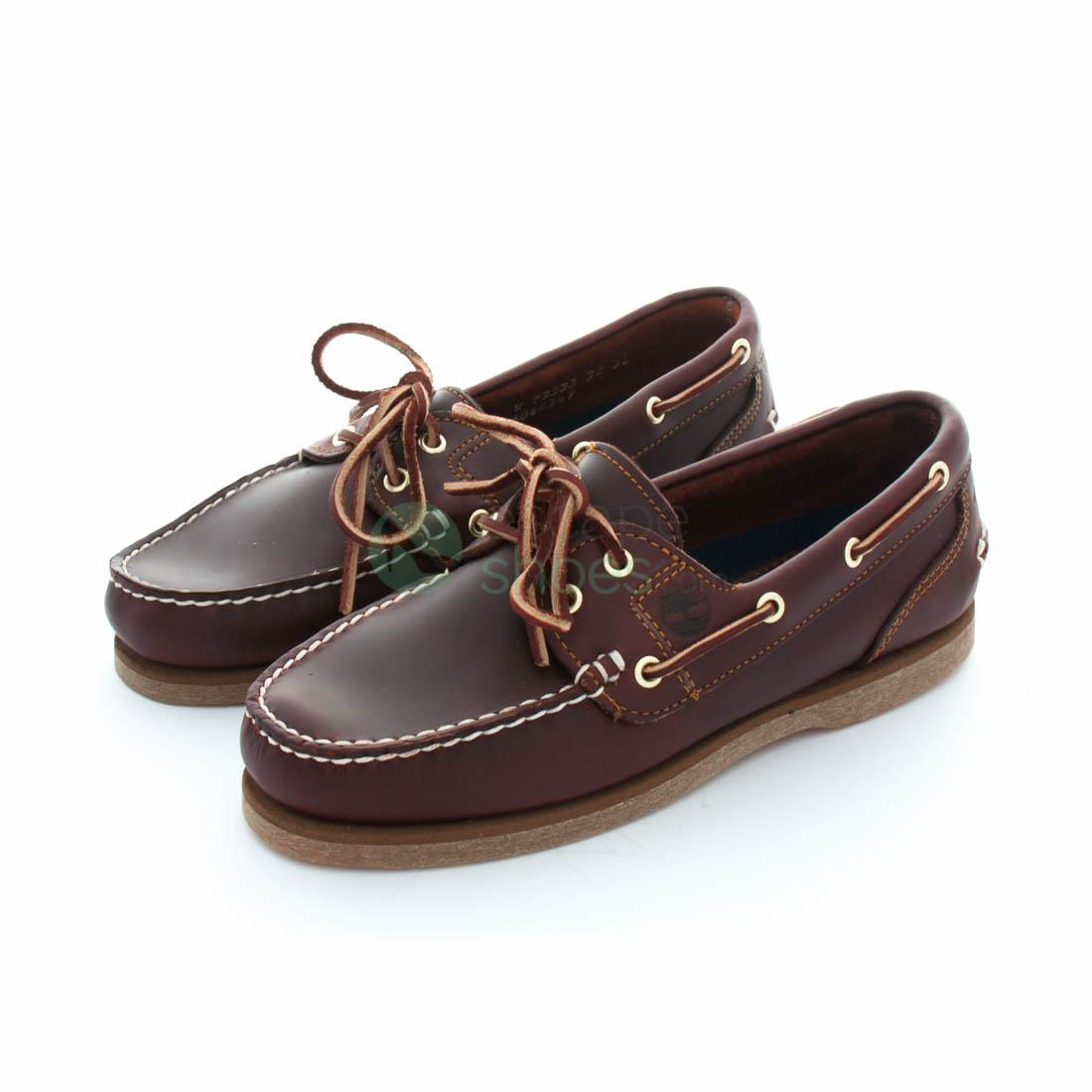 Ceniza Fatal cosa  Zapatos nauticos TIMBERLAND 72333 Woman Boat Root Brown