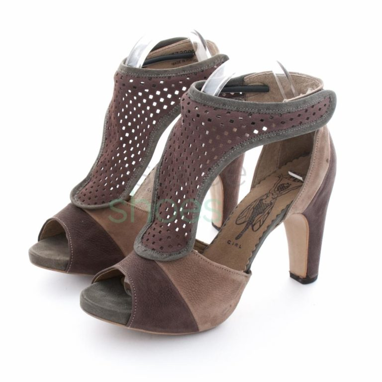Sandalias FLY LONDON Frankie Fool RedPlum P141873000