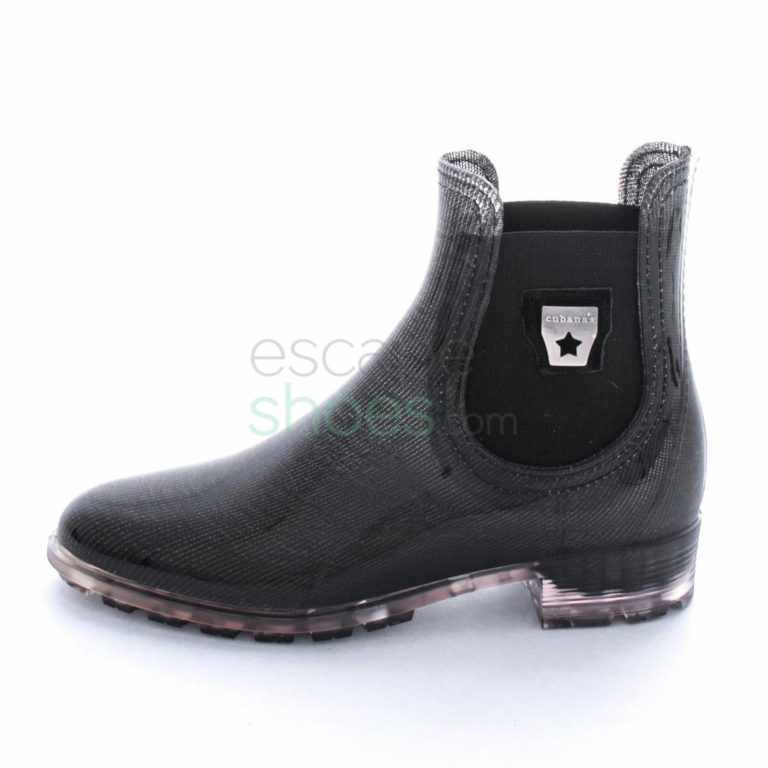Galochas CUBANAS Rainy 602 Black