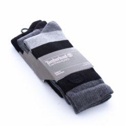Meias TIMBERLAND CJ0100001 Black Grey