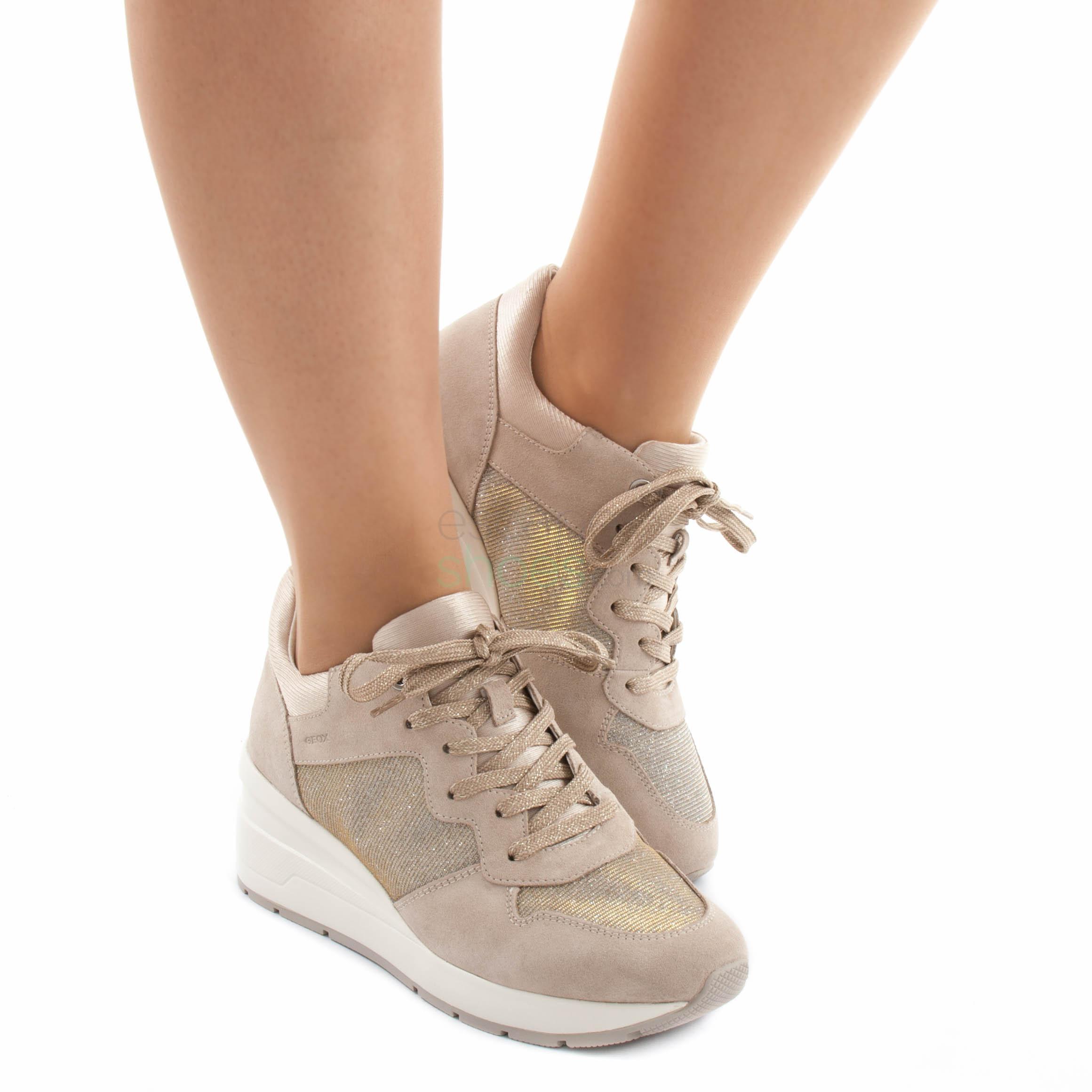 Sneakers GEOX Zosma Taupe