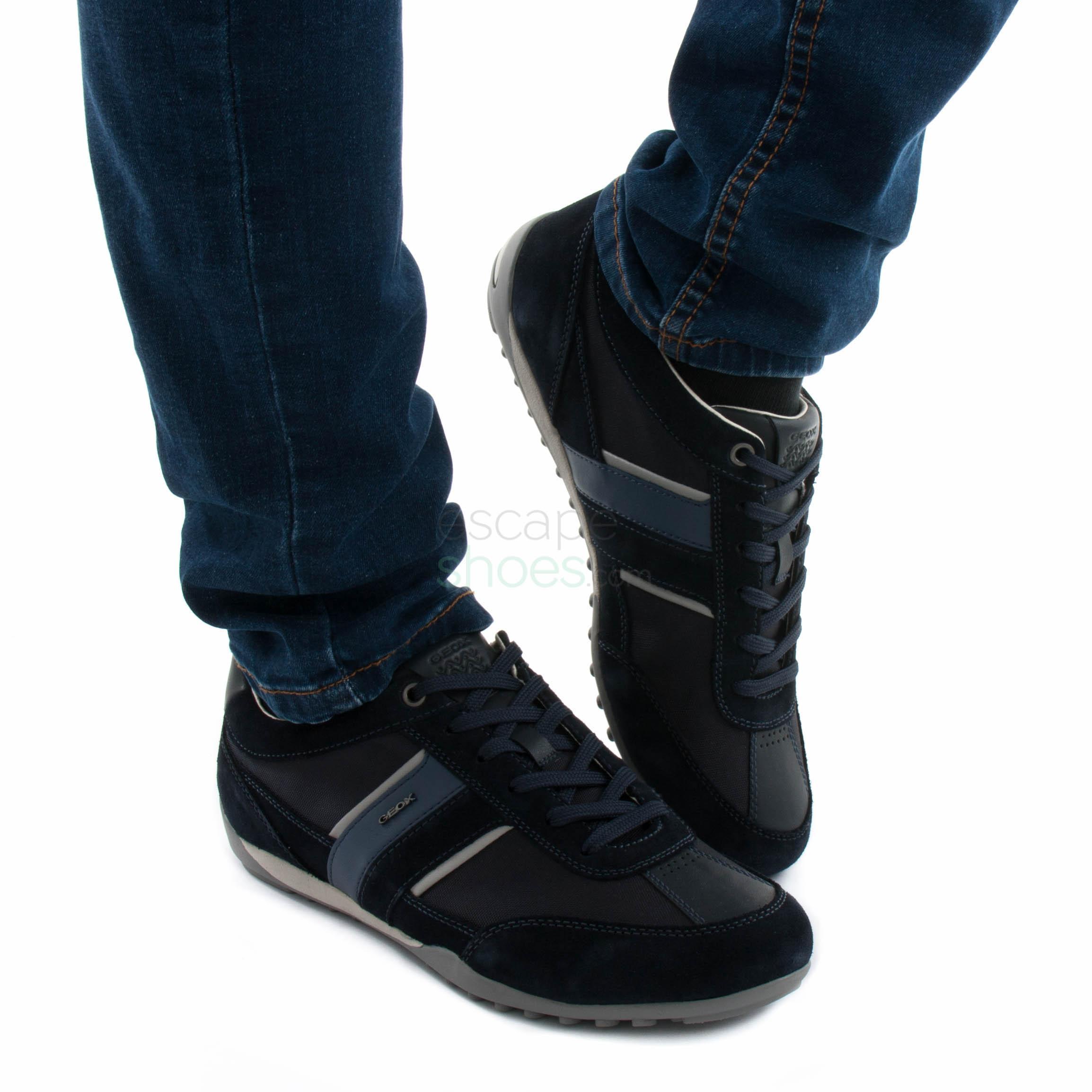 zapatos geox azul marino oscuro