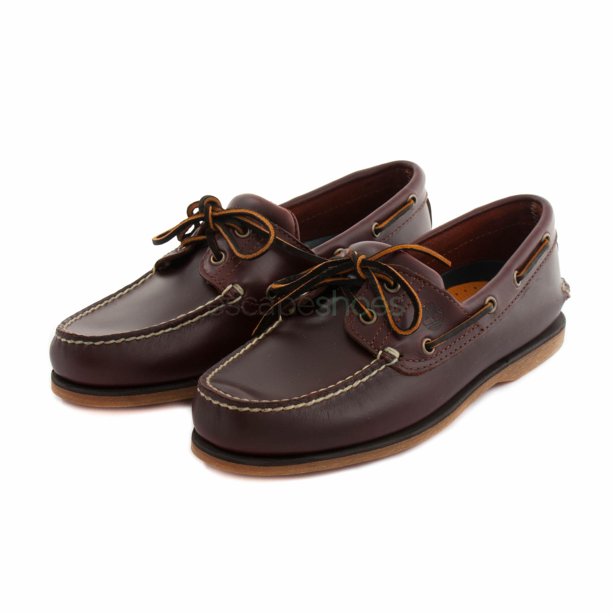 Marketing de motores de búsqueda Lijadoras Aplicar  Boat Shoes TIMBERLAND 25077 Earthkeepers Icon Classic Rootbeer Smooth