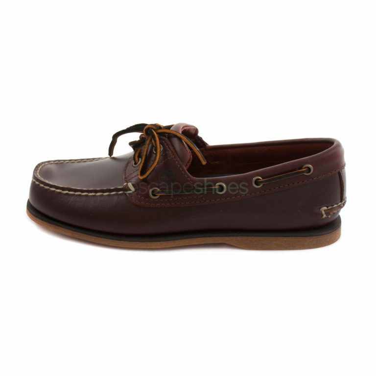 Sapatos Vela TIMBERLAND 25077 Earthkeepers Icon Classic Rootbeer Smooth