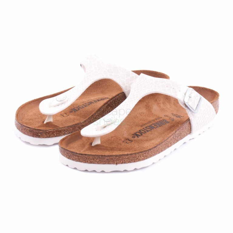 Sandalias BIRKENSTOCK 1009115 Gizeh Magic Snake White