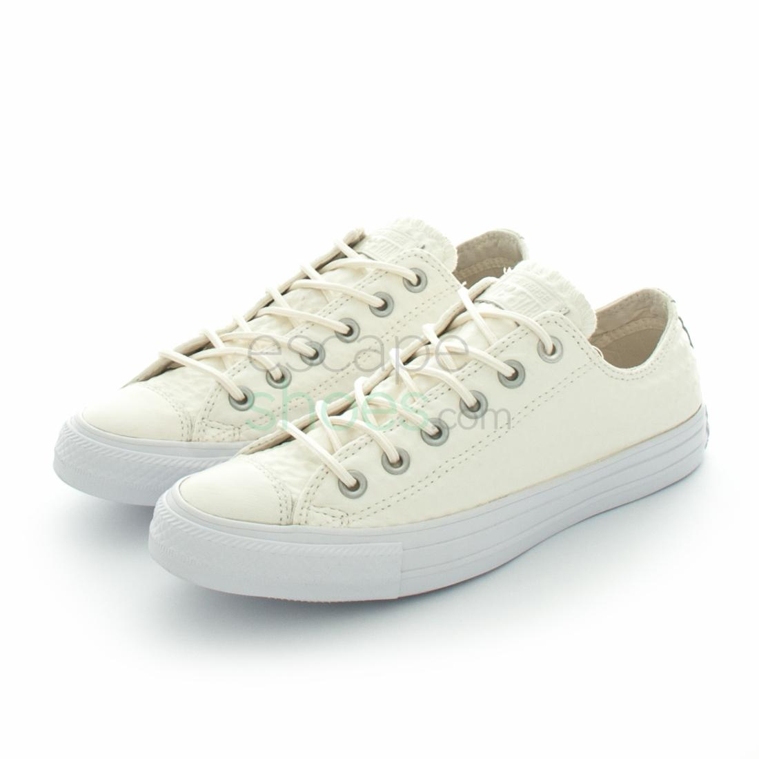 Sneakers CONVERSE Chuck Taylor All Star 153566C Craft Leather Ox White dae9a7345