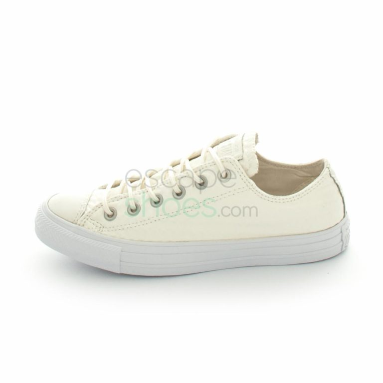 Tenis CONVERSE Chuck Taylor All Star 153566C Craft Leather Ox White