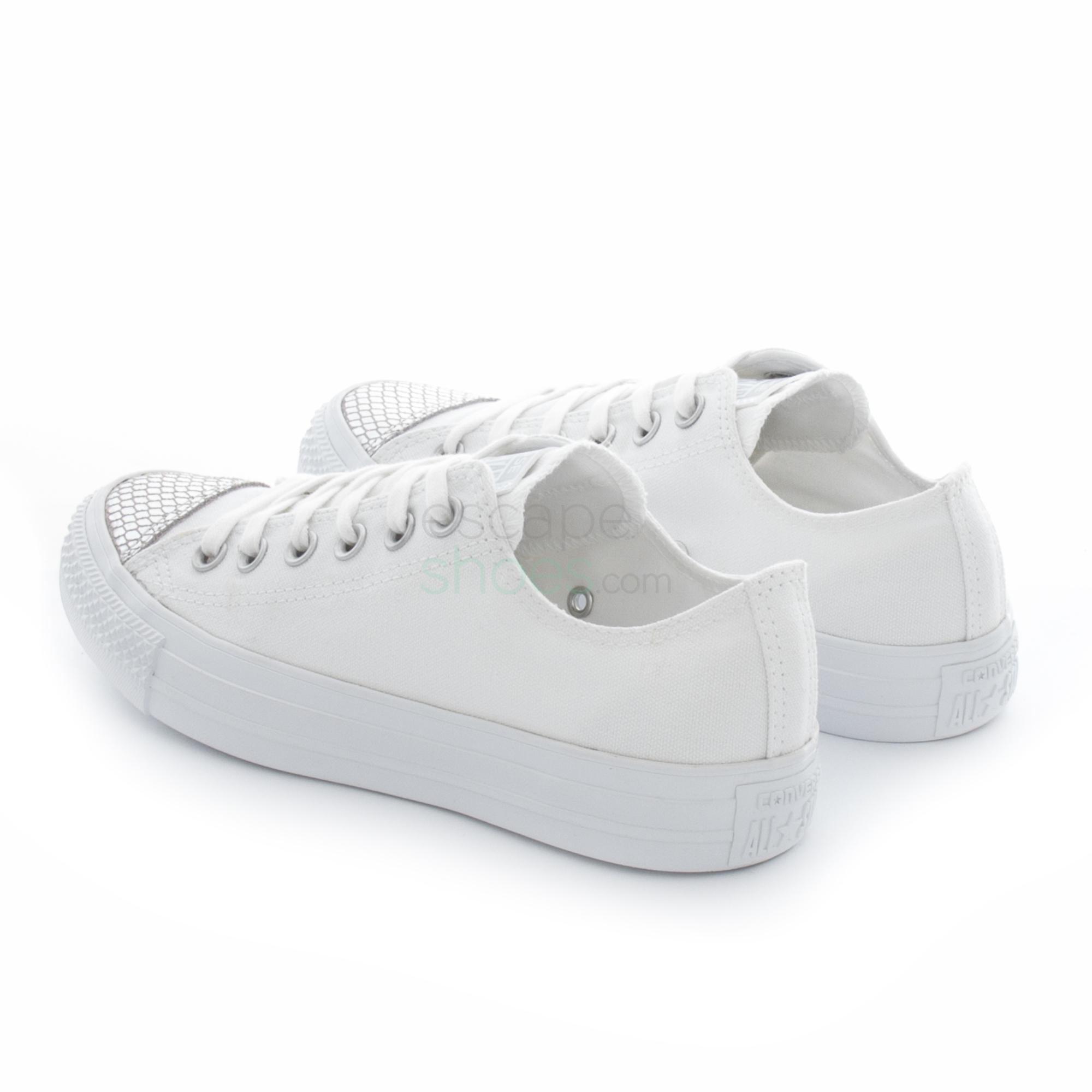 Sneakers CONVERSE Chuck Taylor All Star 555816C White Silver
