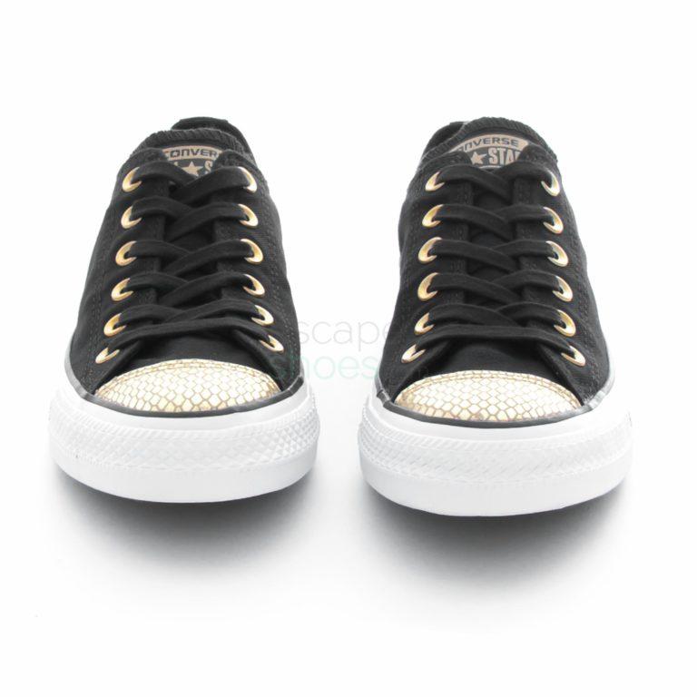 Tenis CONVERSE Chuck Taylor All Star 555815C Black Gold White