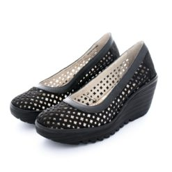 Sandalias FLY LONDON Yellow Yika733 Black P500733000