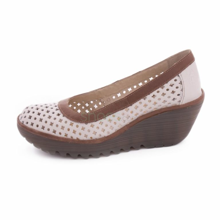 Sandalias FLY LONDON Yellow Yika733 White Grey P500733006