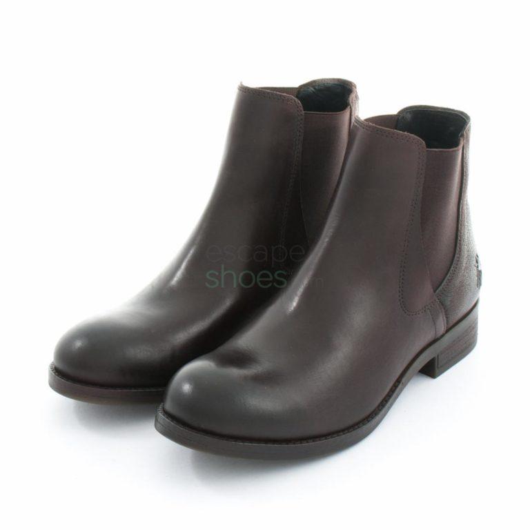 Botins FLY LONDON Armour Alls076 Dark Brown Chocolate P144076001