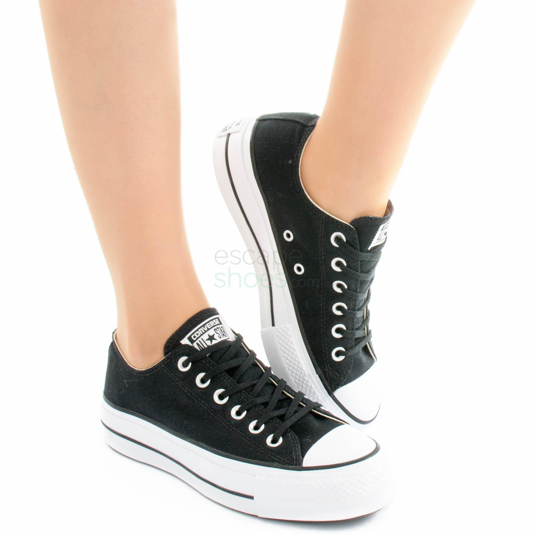 Sneakers CONVERSE Chuck Taylor All Star Lift Clean 560250C Black
