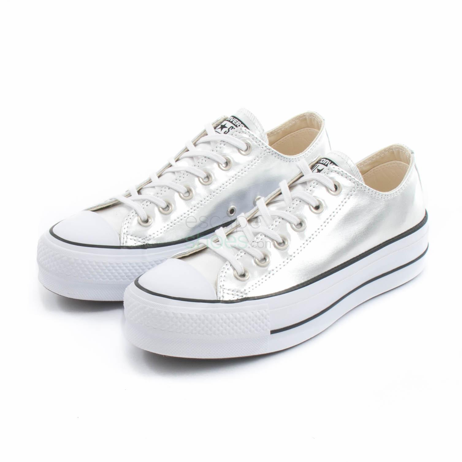 Sneakers CONVERSE Chuck Taylor All Star Lift Clean 560248C Silver